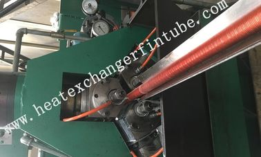 Carbon Steel Extruded Fin Tube Machine , Fin Average Thickness  0.3mm